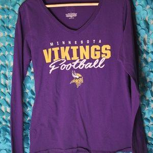 Minnesota Vikings Large women's shirt